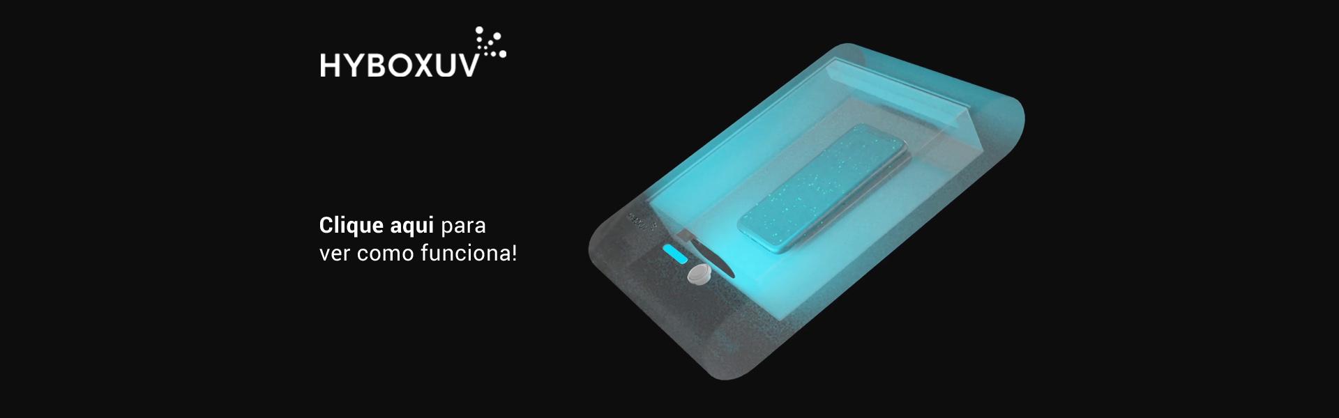 HYBOXUV - Desinfecção de objectos com Luz UV-C video thumb