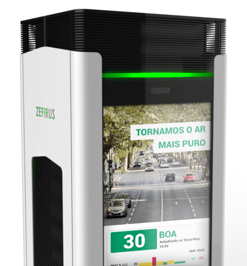 HAMBIRE - ZEFIRUS Purificador de ar para cidades