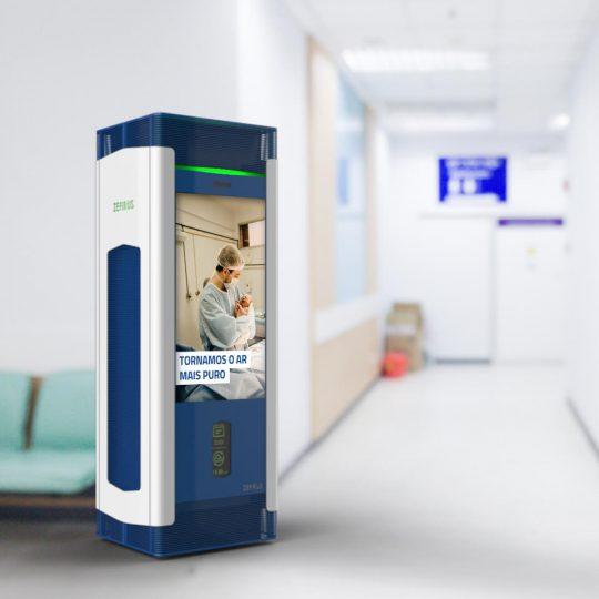 HAMBIRE - ZEFIRUS Air purifier for cities