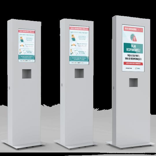 HAMBIRE - Acohol gel dispenser PLASMV